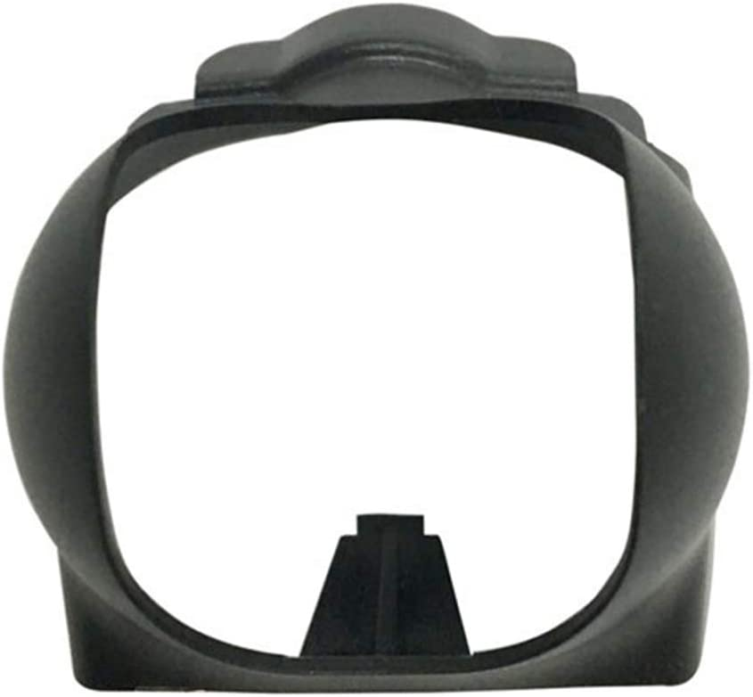 Maserfaliw Lens Hood Sun Hood Lens Cover Cap Camera Gimbal Protector Accessories for DJI Spark Drone Black