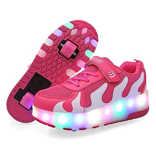 Twippo Zapatillas con Ruedas Automáticas con Leds para niños.: Amazon.es: Deportes y aire libre