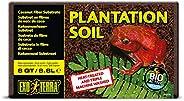 Exo Terra Plantation Soil - 8 qt (8.8 L), Brown, 8-Quart