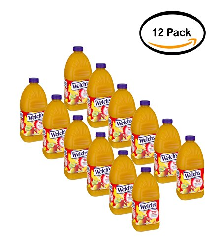 PACK OF 12 - Welch's Juice Cocktail, Mango Twist, 96 Fl Oz, 1 Count -