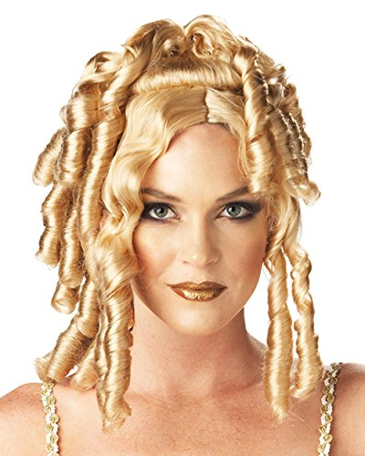 Athena Goddess Costume Ideas (Goddess Wig Blonde Ringlet Wig Athena Costume Accessory)