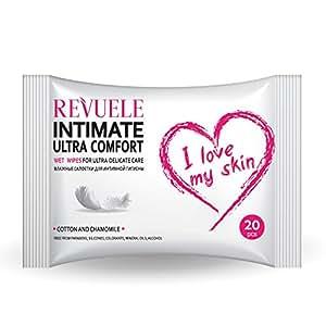 Revuele Intimate Ultra Comfort Wet Wipes 20