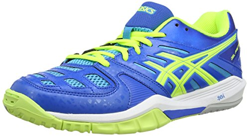 Flash Yellow Gel Asics Fastball Blue Sportive Scarpe 4204 Uomo Aqua Blue wrYq0Pdq6