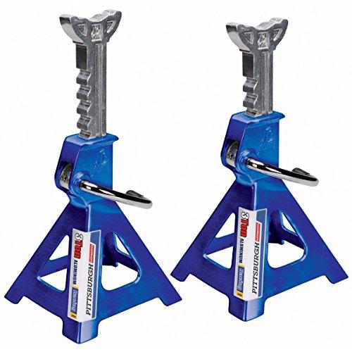 Light Jack Stand: 3 Ton Light Weight Aluminum Racing Jack Stands