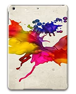 Colors Spray Polycarbonate Case Cover For Apple iPad Air/ iPad 5th Generation
