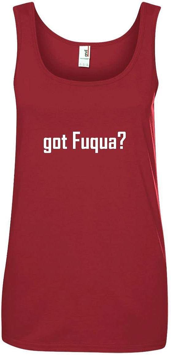 CHICKYSHIRT got Fuqua? A Soft /& Comfortable Womens Ringspun Cotton Tank Top