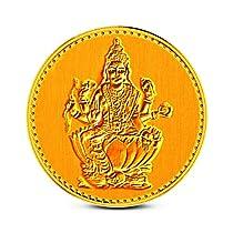 24k (995) BIS hallmarked 1 gm Yellow Gold Precious Coin