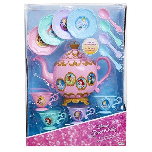 51tmbJZjk%2BL - Disney Princess Royal Story Time Tea Set Pretend Play Toys