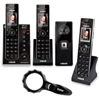 VTech IS7121-2 2 Handset Audio/Video Doorbell Answering System with Accessory Handset, Keychain TV Remote/Flashlight and $10 Gift Card