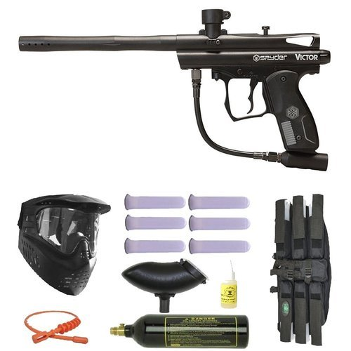 (Wrek Paintball Spyder Victor II Paintball Gun Package)