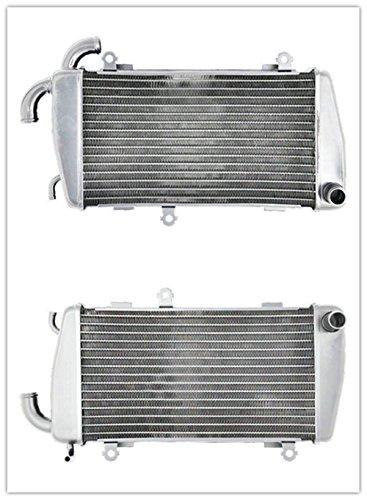 OzCoolingParts 2002 2003 Honda Goldwing GL1800 Right & Left Radiator - 2 Row Core Aluminum Radiator for Right and Left Honda Goldwing GL1800 2001-2005, 34mm -