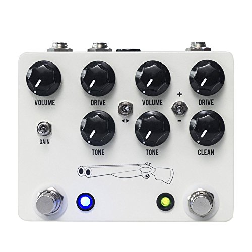 JHS Double Barrel V4 Dual Overdrive Pedal by Jhs