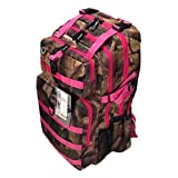 21inch 2000 cu in Great Hunting Camping Hiking Backpack DP321 DCPK Pink DIGITAL CAMOUFLAGE