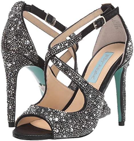 Betsey Johnson Women's Sb-sage Heeled Sandal