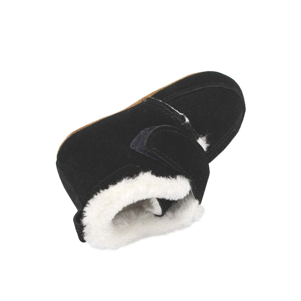 TRIWORIAE-Babys First Walking Shoes of Soft Leather Non-Slip Breathable for Children Boy Girl Infant