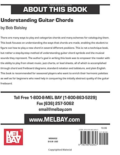 Amazon.com: Mel Bay\'s Understanding Guitar Chords (9780786632657 ...
