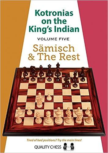 Kotronias on the King's Indian: Saemisch & the Rest (Volume 5) 51tmdLZ8kDL._SX351_BO1,204,203,200_