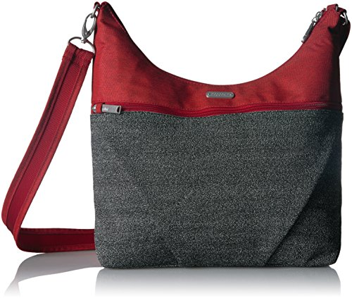 Large Ruby Hobo Anti Antitheft Theft Baggallini ExqpFRwS6
