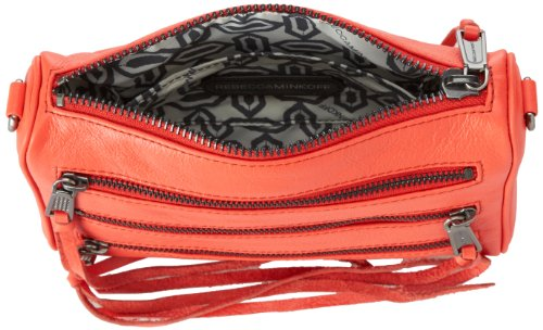 Mini Zip 5 Convertible Rebecca Minkoff Body Red Handbag Hot Cross TxSTw