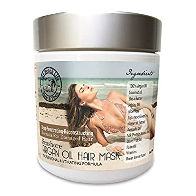 Moroccan Argan Oil Conditioner-Best Re-paring Conditioner-Moroccan Argan Oil for Dry-& Damaged Hair-It's a Creamy Substance for Shine, Silky Hair Instantly!
