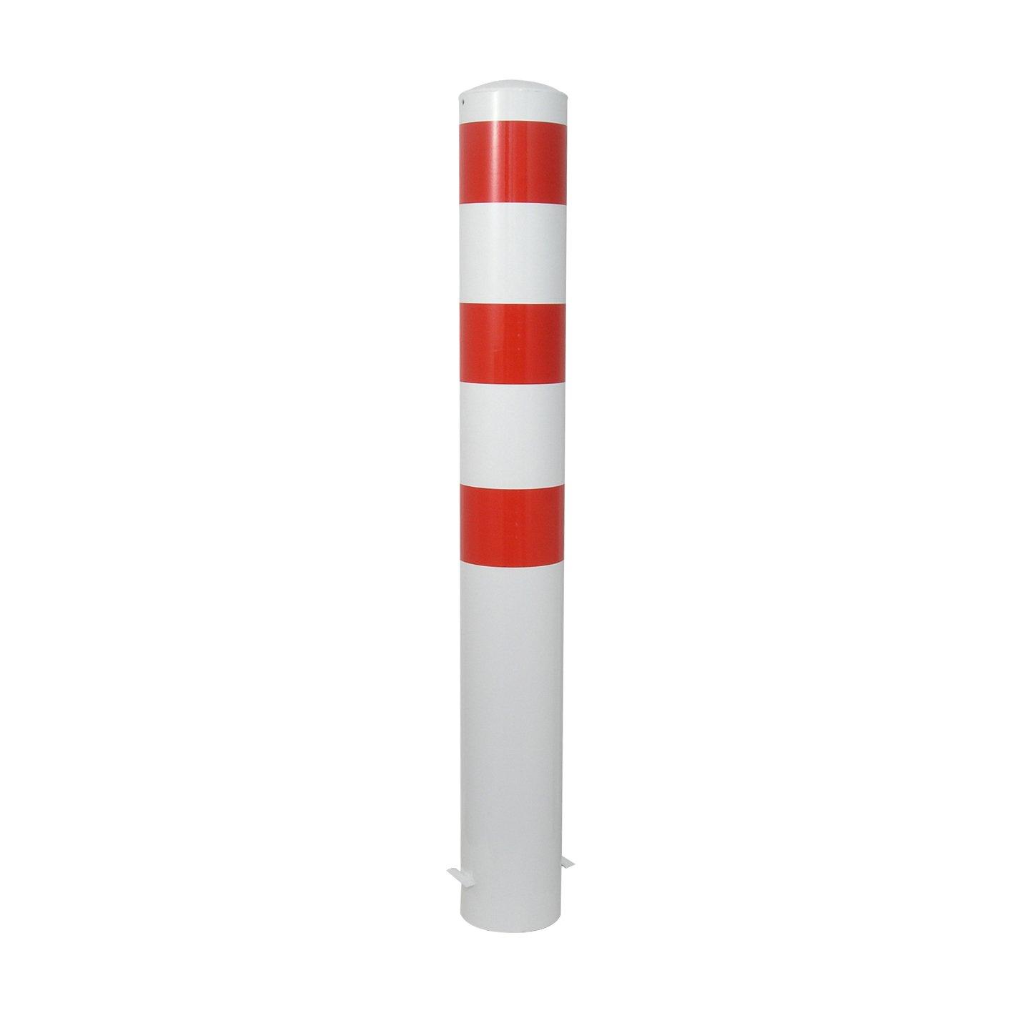 L/änge Absperrpfosten Poller /Ø 152 x 3,2 mm ortsfest zum Einbetonieren 1500 mm ca