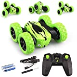 Satkago RC Car Stunt Car, Kids Toys Remote Control Racing Car 4WD Double