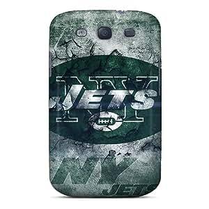 Samsung Galaxy S3 VEc11828uIRx Custom Nice New York Jets Pattern Shockproof Hard Phone Covers -DannyLCHEUNG