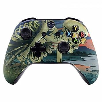 eXtremeRate Carcasa para Xbox One Funda Delantera Carcasa Frontal Tacto Suave Kit de reemplazo Placa Frontal para Mando Controlador de Xbox One X Xbox ...