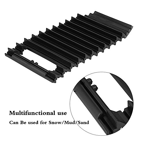CALAP STORE 1 Pcs Universal Car Anti-Skid Chains Sand Pass Tire pads Car Ice Scraper Snow Shovel Winter Tyre Wheel Nonslip Belt Pad by CALAP STORE
