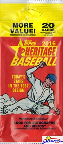 2016-topps-heritage-mlb-baseball-factory-sealed-exclusive-jumbo-fat-pack-with-20-cards-look-for-real