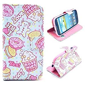 SHOUJIKE Samsung S3 I9300 compatible Cartoon/Special Design/Name Brand Style PU Leather Full Body Cases