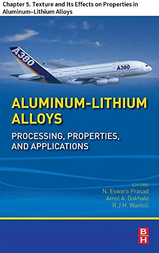 Aluminum-Lithium Alloys: Chapter 5. Texture and Its Effects on Properties in Aluminum-Lithium Alloys (Aluminum Alloy Castings Properties Processes And Applications)