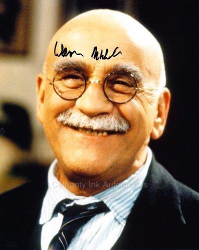 WARREN MITCHELL as Alf Garnett - Work Death Us Do Part Genuine Autograph