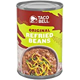 Taco Bell Refried Beans Can, Original, 16 Ounce (Pack of 12)
