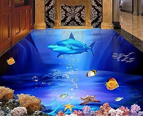 Lwcx d piano pittura foto personalizzate sfondo shark starfish d