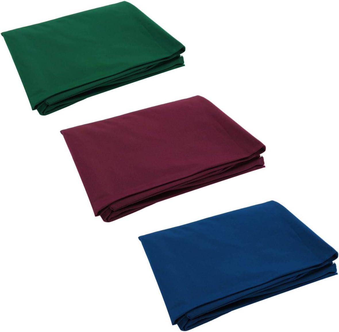 Verde EsportsMJJ 2.5 x 1.45 m Single-sided biliardo piscina tavolo da biliardo di copertura per 7//8 pollici tavolo