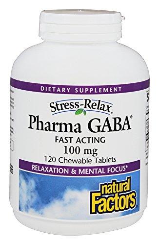 Pharma GABA 100mg - facteurs de
