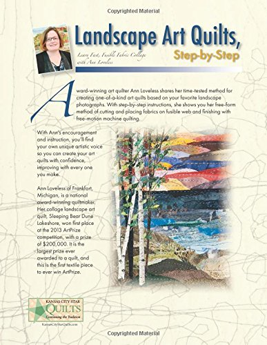 Landscape Art Quilts, Step by Step: Learn Fast, Fusible Fabric Collage with Ann Loveless by C T Publishing Kansas City Star Quilts (Image #2)