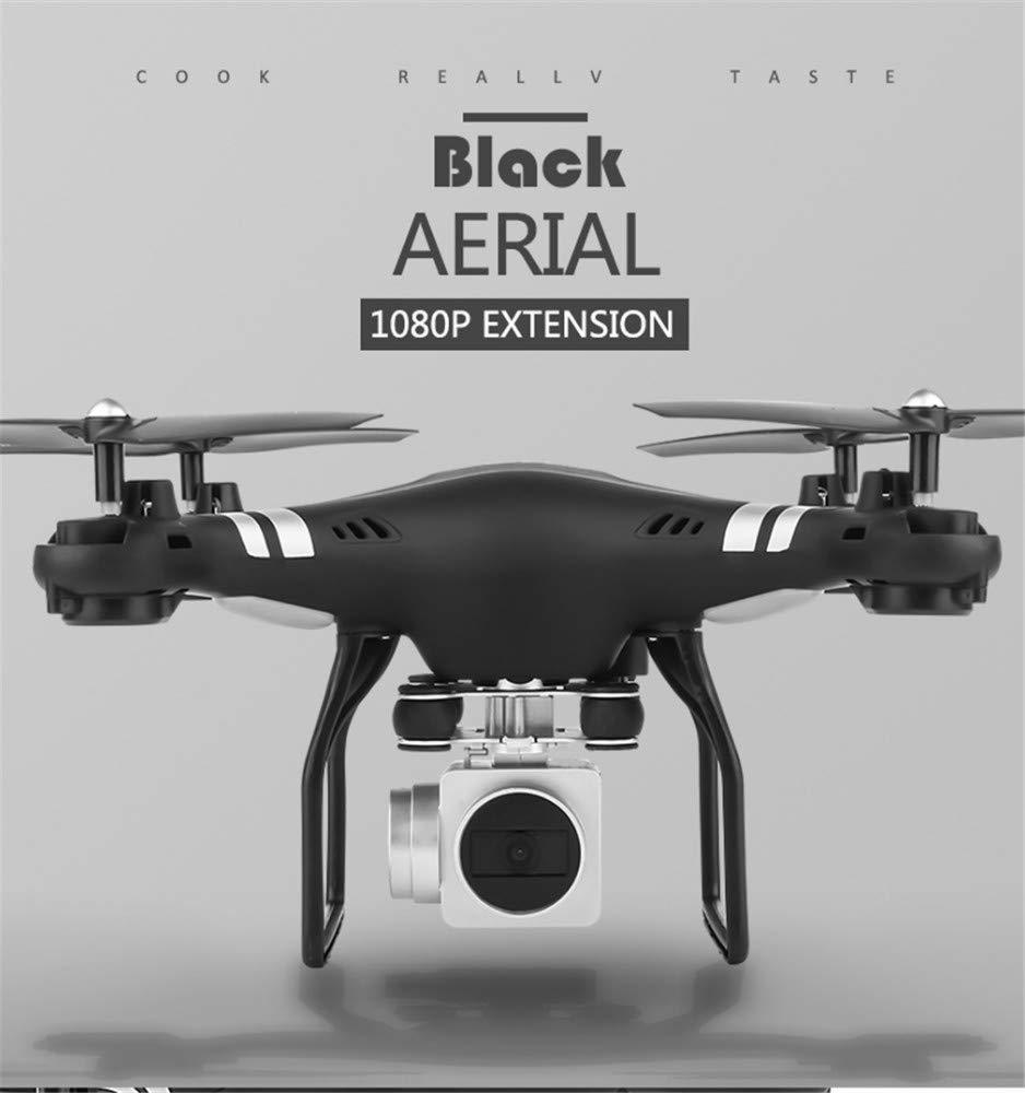 GCM-T Drone LED Lighting Control 480P HD Camera 360 ° Stunt Roll Giroscopio Six-Axis Ritorno a Un Pulsante modalità Headless Caricatore USB Nero Hd5H