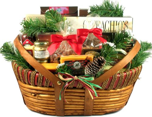 Gift Basket Village Home For The Holidays Christmas Gift Basket (Large) by Gift Basket Village