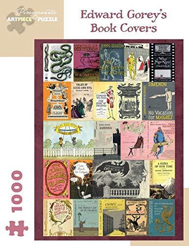 Edward Gorey's Book Covers: 1000-Piece Jigsaw ()