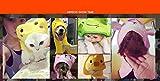 Soft Pet Dog Cute Cartoon Pajamas Dog Bathrobe Multifunction Absorbent Pet Bath Towel Animal Puppy Cat Warm Blanket Pet Supplies (S, Style 1)