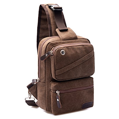bolsa de lona/La pechera/bolso de bandolera/La bolsa de mensajero/Mochila unisex/Bolsas de viaje-C A