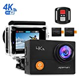 APEMAN Action Camera 4K Wi-Fi Waterproof Underwater Camera Ultra Full HD Sport Cam 30M Diving with 2