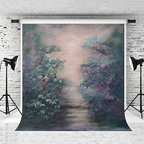 Kate 5x7ft Oil Painting Backdrop Hand-Painted Cloth Backdrops Abstract Background Flower Photo Backdrop Cotton - Background Oil Painting