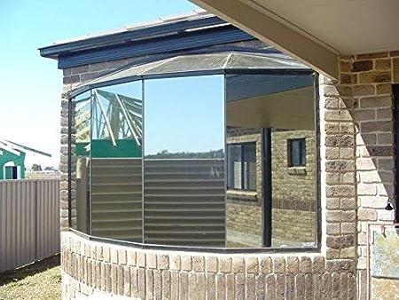 DiversityWrap - Lámina reflectante para ventana, efecto espejo, 15 ...