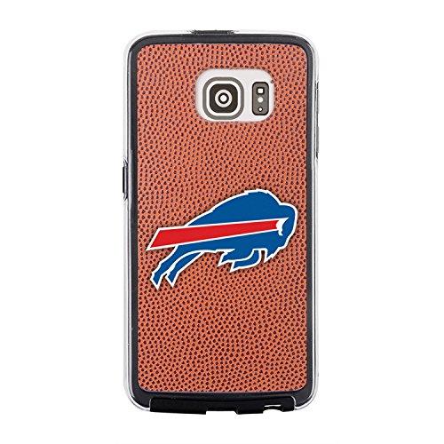 Display Football Buffalo Case (NFL Buffalo Bills Classic Football Pebble Grain Feel No Wordmark Samsung Galaxy S6 Case, Brown)