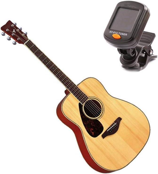 Asdflina Afinador de Guitarra Afinador de bajo acústico Ukulele ...