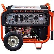 7800 Watt Industrial Digital Gas Powered Inverter Generator