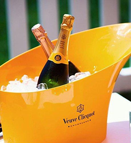 Veuve Clicquot Orange Double Magnum Champagne Ice Bucket by Veuve Clicquot